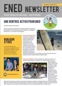 Newsletter - Une Rentrée Active